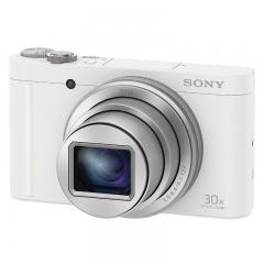 索尼(SONY) DSC-WX500 便携数码相机/照相机/卡片机 白色(约1820万有效像素 180度可翻转屏 支持Wi-Fi)