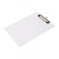 晨光(M&G)A4菱纹刻度尺记事板夹文件夹颜色随机 单个装ADM94512