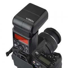 神牛(Godox)V350-F 单反相机单反热靴机顶灯 V350F/S/O/N/C闪光灯 索尼/富士/佳能/尼康/奥林TTL高速锂电池