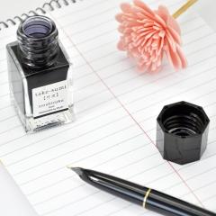 日本百乐(PILOT)钢笔墨水彩墨 竹炭 15ml INK-15-TAK原装进口