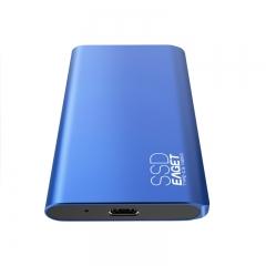 忆捷(EAGET)512GB Type-c USB3.1 GEN2 PCIe NVME协议移动硬盘 固态(PSSD)M10 读速高达900MB/s 只换不修