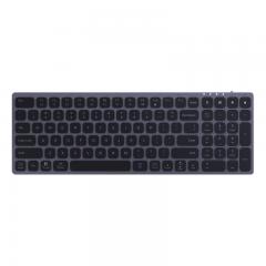 科大讯飞智能键盘K710 无线蓝牙键盘 语音输入控制键盘 支持离线输入 多系统兼容  铝合金设计 双区全尺寸
