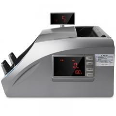 得力(deli)银行专用 智能语音点验钞机 新版 点钞机 T830B(银灰色)B类银行机