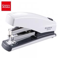 齐心(Comix)省力型订书机/订书器 12# 白 B3017N