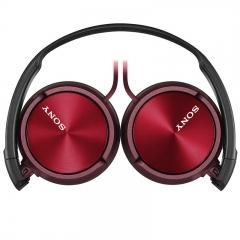 索尼(SONY)MDR-ZX310 头戴式立体声耳机 监听耳机 红色