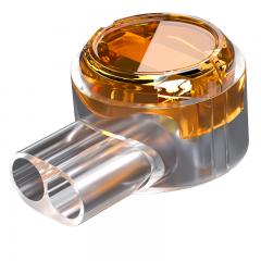 山泽(SAMZHE)接线端子 K2工程专用电话线网线接线头连接器 K2双刀双线接线器100个/袋 新包装 PT-09