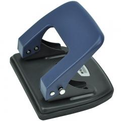 晨光(M&G)文具蓝色中号办公打孔器 便携式双孔打孔机(孔径5.5mm/孔距80mm) 单个张ABS92647