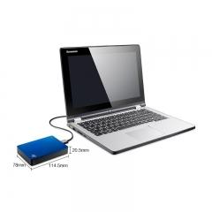 希捷(Seagate) 4TB USB3.0 移动硬盘 睿品 2.5英寸 自动备份 金属面板 高速传输 兼容Mac 轻薄便携 宝石蓝