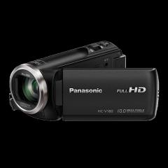 松下(Panasonic) HC-V180直播高清数码摄像机 /DV/摄影机/录像机 90倍智能变焦、5轴防抖、大广角录制