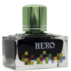 英雄(HERO)钢笔/签字笔钢笔墨水 非碳素染料型彩色墨水系列 7108彩墨淡绿色