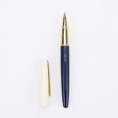 晨光(M&G)无用之诗0.5mm黑色子弹头金属中性笔学生签字笔水笔1支+1个笔盒ARP48306