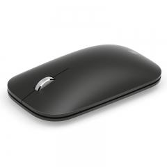 微软Surface Mobile Mouse 便携蓝牙无线鼠标 商用 典雅黑 金属材质滚轮 商务办公 支持平板 笔记本