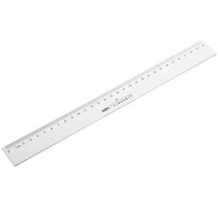 得力(deli)30cm办公通用直尺 测量绘图尺子 办公用品 6230