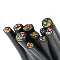 江北防老化 铜芯橡皮绝缘黑色聚乙烯护套电线     BX 16平方  100米/盘
