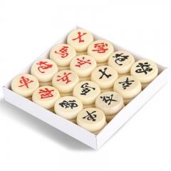 得力(deli) 9565 原木盒装中国象棋 30mm