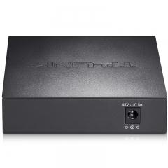 TP-LINK TL-SF1005MP 5口百兆4口POE供电非网管PoE交换机