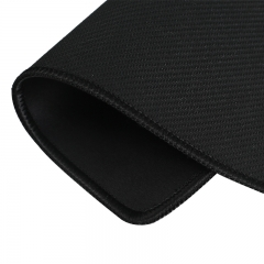灵蛇(LINGSHE)鼠标垫 办公游戏鼠标垫 办公鼠标垫小号 精密包边防滑可水洗P01黑色