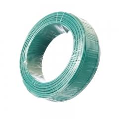金山(JINSHAN)国标单芯塑铜线 硬线 电线 电缆 BV4平方 绿100M/盘