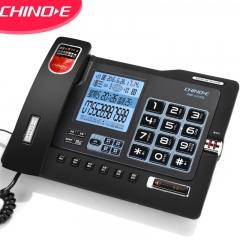 中诺 G025豪华32G版 录音电话机座机 32G+4G存储卡连续录音 自动留言答录 固定电话 HCD6238(28)TSDLB黑色