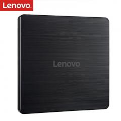 联想(Lenovo)8倍速 USB2.0 外置光驱 外置DVD刻录机 移动光驱 黑色(兼容Windows/苹果MAC系统/GP70N)