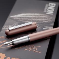 齐心(Comix) 金属钢笔/墨水笔(1笔+2墨囊) FP6205 玫瑰金