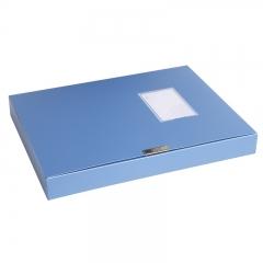 得力(deli)5623  环保PP材质档案盒A4(蓝) 50mm 单只装
