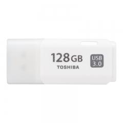 东芝(TOSHIBA)128GB USB3.0 U盘 U301经典隼系列 白色 原厂颗粒 时尚典雅 商务高速车载U盘