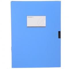 三木(SUNWOOD) A4/55mm标准型档案盒 24只装 蓝色
