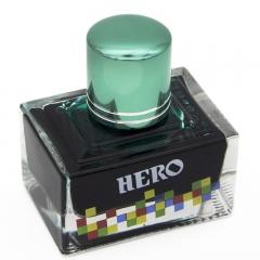 英雄(HERO)钢笔/签字笔钢笔墨水 非碳素染料型彩色墨水系列 7107彩墨深绿色