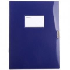 三木(SUNWOOD) A4/35mm炫色档案盒 蓝色 FB4000