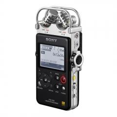 索尼(SONY)数码录音棒/录音笔PCM-D100 32G 黑色 专业DSD播放格式 大直径定向麦克风 商务乐器学习适用