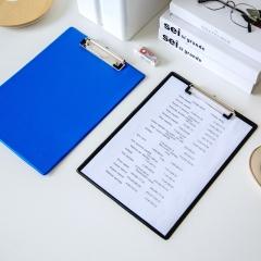 广博(GuangBo)PVC全包胶A4书写垫板/文件夹板/办公用品 颜色随机 单个装WJ6110