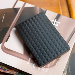 希捷(Seagate) 1TB USB3.0 移动硬盘 睿翼 2.5英寸 黑钻版 商务时尚 轻薄便携 高速传输 简易备份 商务黑