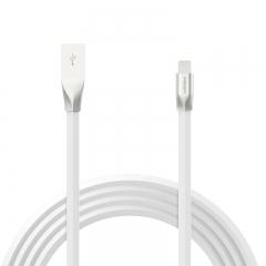 品胜(PISEN)锌合金苹果数据线 1米 Xs Max/XR/X/8手机充电线 适用于苹果5s/6/7/8Plus/ipad air/pro 白色