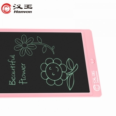 汉王 Hanvon 液晶手写板 儿童涂鸦手绘板 电子画板 草稿家庭留言备忘写字板 绘画板绘图板  8.5英寸樱花粉