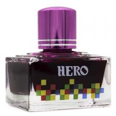 英雄(HERO)钢笔/签字笔钢笔墨水 非碳素染料型彩色墨水系列 7103彩墨粉红色
