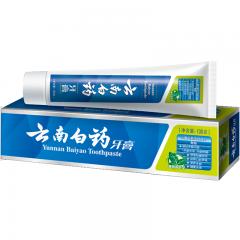 云南白药 牙膏 100g (薄荷清爽型)新老包装随机发货