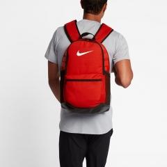 耐克(NIKE)包 运动包 双肩包 Brasilia Training背包 学生书包 电脑包 BA5329-657 红