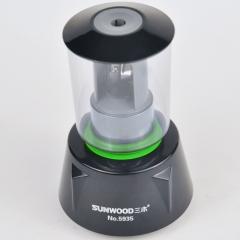 三木(SUNWOOD) USB电动削笔器/卷笔刀/电池电源双驱动 绿色 5935