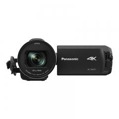 松下(Panasonic) WXF1直播4K高清数码摄像机 /DV/摄影机/录像机 五轴防抖、光学24倍变焦、双摄像头