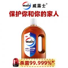 威露士家用消毒液1L 手部皮肤 衣物地板等多用途可用消毒水 松木清香 杀菌率99.999%