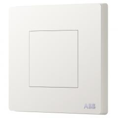 ABB开关插座面板 空白面板 轩致系列 白色 AF504