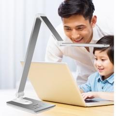 松下(Panasonic)国AA级减蓝光护眼台灯儿童学生学习阅读工作调光调色台灯 HHLT0616