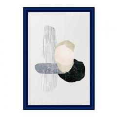 金隆兴 (Glosen)三证合一营业执照相框 A4挂墙摆台工商税务画框证书框 蓝色 D3-A4