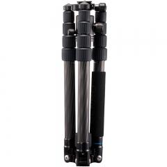百诺(Benro)C2292TB1 QIHM-8X高强碳纤维 反折 可转独脚架 专业便携旅游天使2代单反三脚架云台