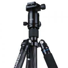 百诺(Benro)三脚架 C2282TV2 单反三脚架 碳纤维  佳能尼康相机专业发烧单反三脚架云台