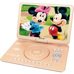 先科(SAST)02A dvd播放机便携式 DVD影碟机cd机便携式移动电视 USB光盘播放器 17.8英寸(土豪金)