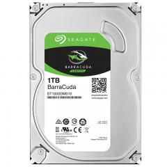 希捷(Seagate)1TB 64MB 7200RPM 台式机机械硬盘 SATA接口 希捷酷鱼BarraCuda系列(ST1000DM010)