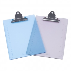 广博(GuangBo)A5优质PS书写板夹/文件夹板带刻度 蝴蝶夹颜色随机 单个装WJ6104