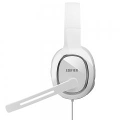 漫步者(EDIFIER)K815 头戴式立体声游戏耳机 电脑耳麦 绝地求生耳机 吃鸡耳机 办公教育 学习培训 白色